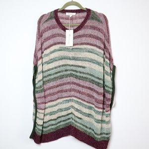 Vince Camuto | NEW Striped Popover Poncho